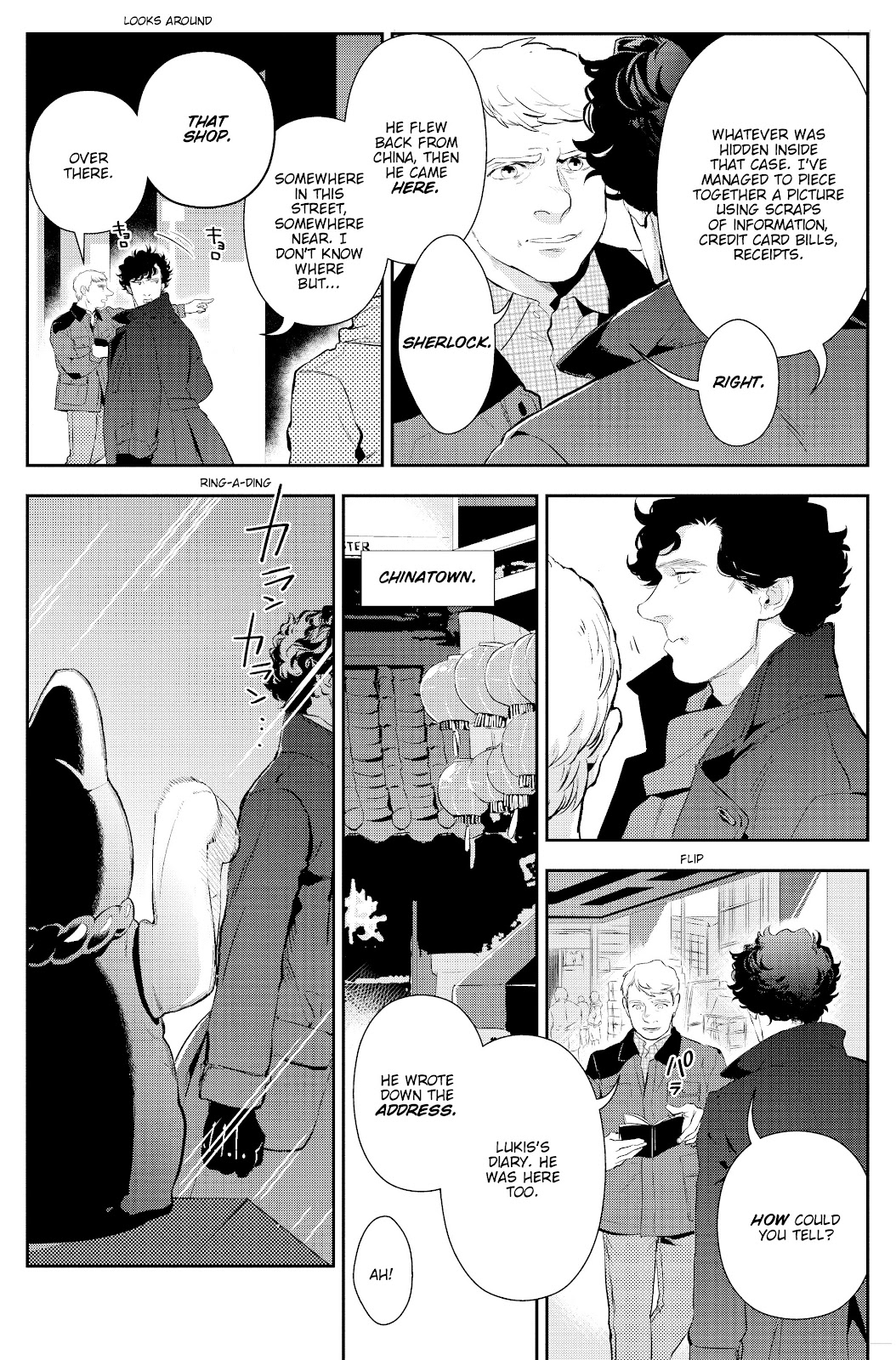 Sherlock: The Blind Banker Issue #3 #3 - English 22