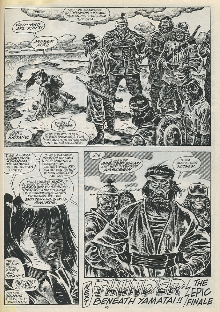 The Savage Sword Of Conan Issue #194 #195 - English 47