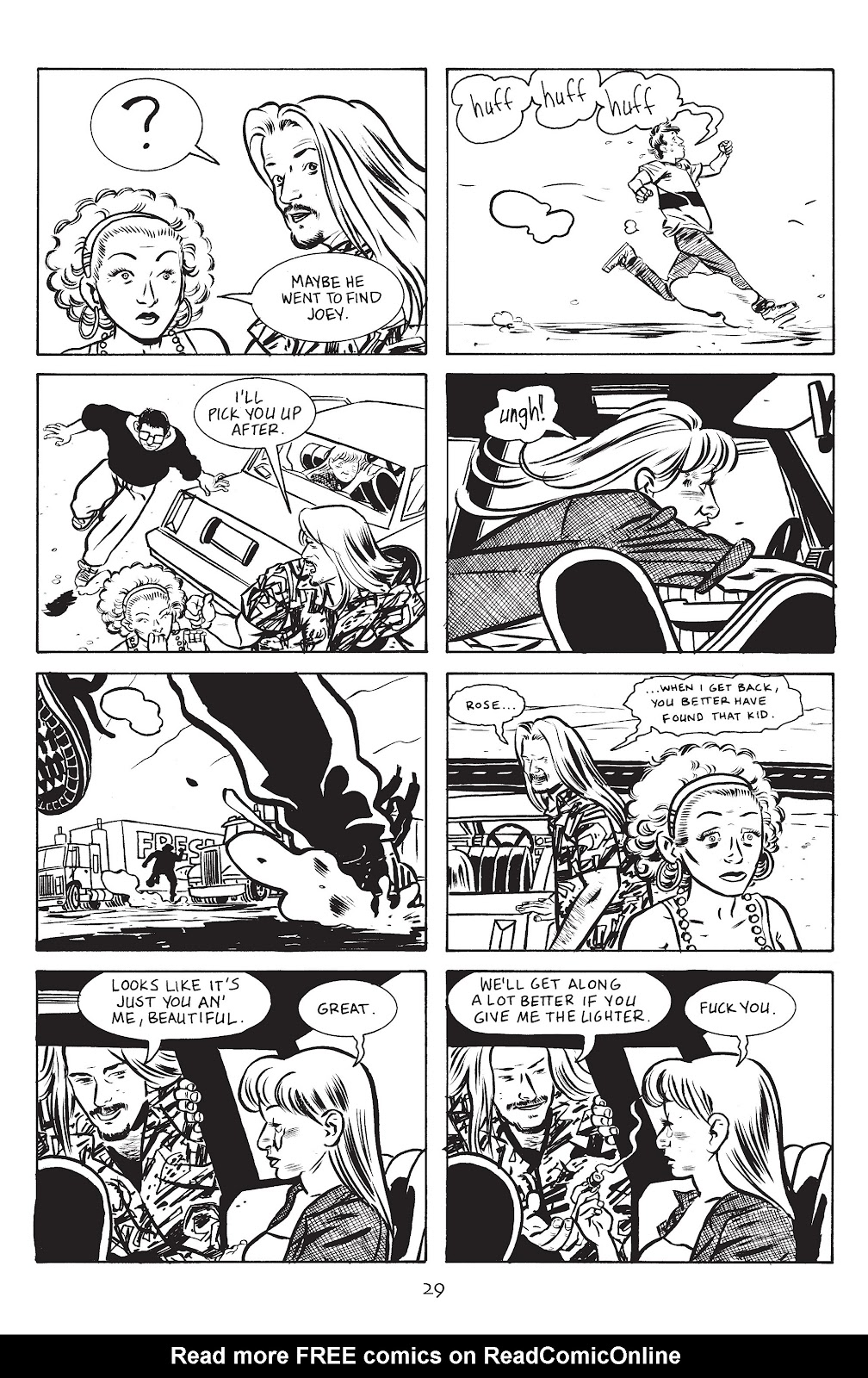 Stray Bullets Issue #14 #14 - English 31