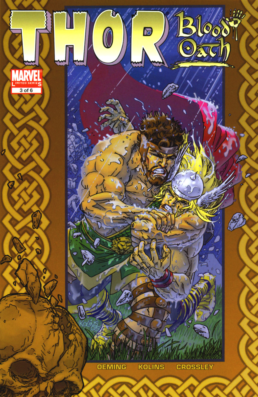 Read online Thor: Blood Oath comic -  Issue #3 - 1