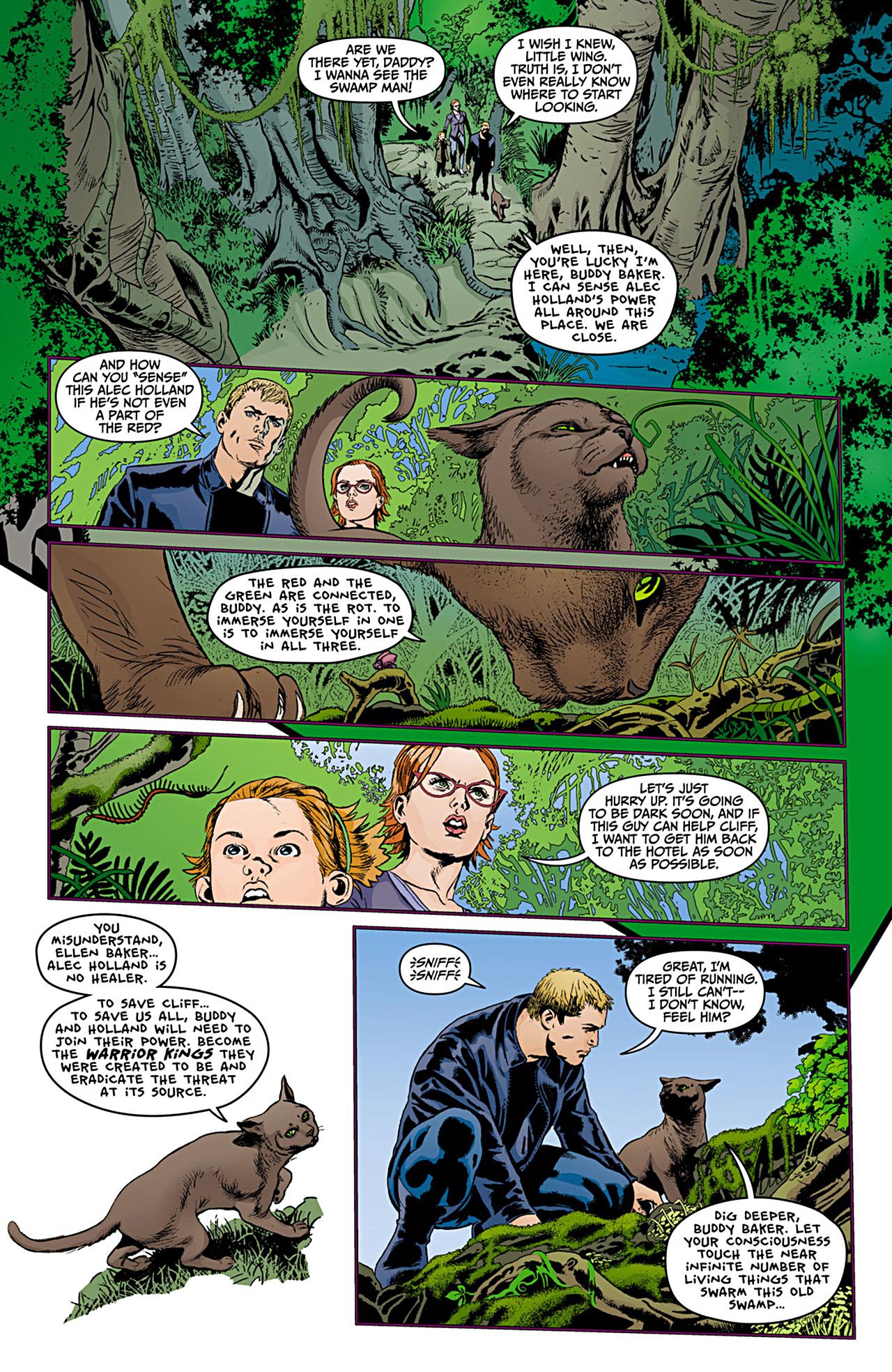 Read online Animal Man (2011) comic -  Issue #12 - 5