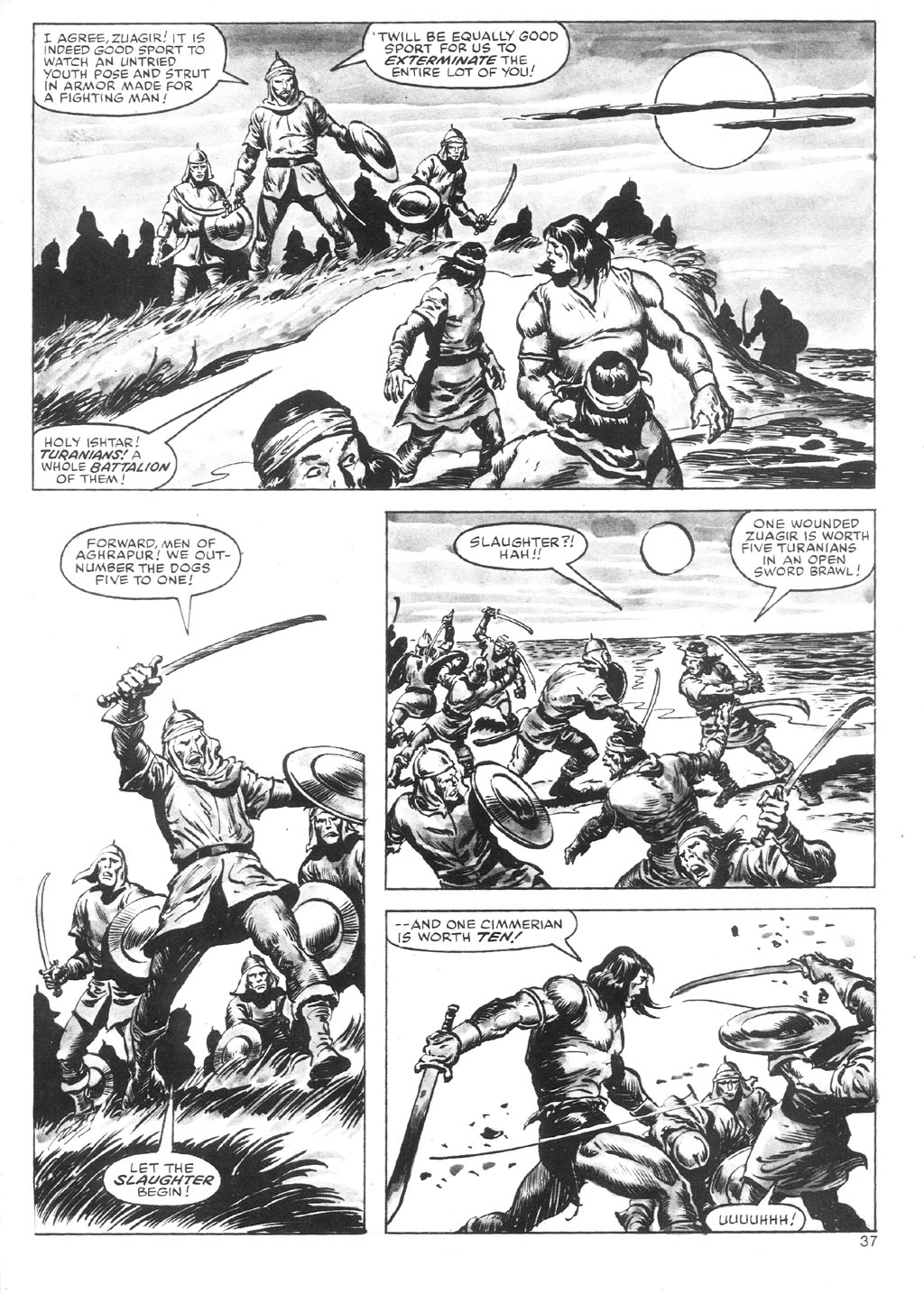 The Savage Sword Of Conan Issue #87 #88 - English 37