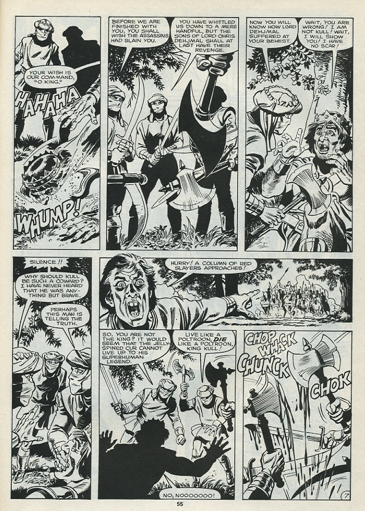 The Savage Sword Of Conan Issue #182 #183 - English 57