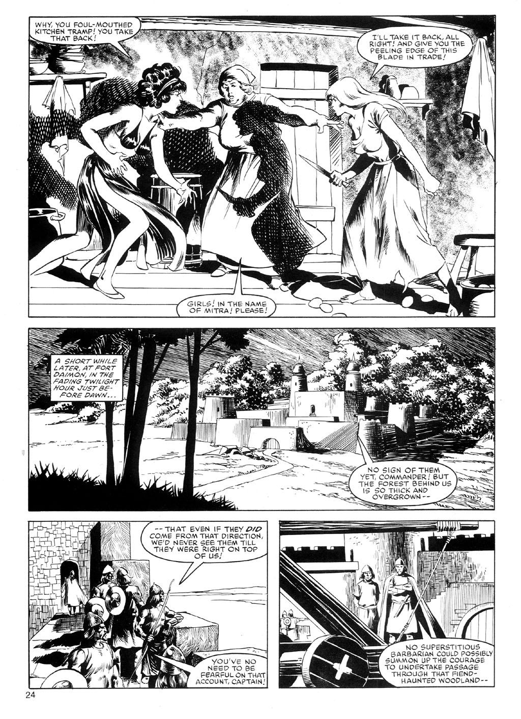 The Savage Sword Of Conan Issue #91 #92 - English 23