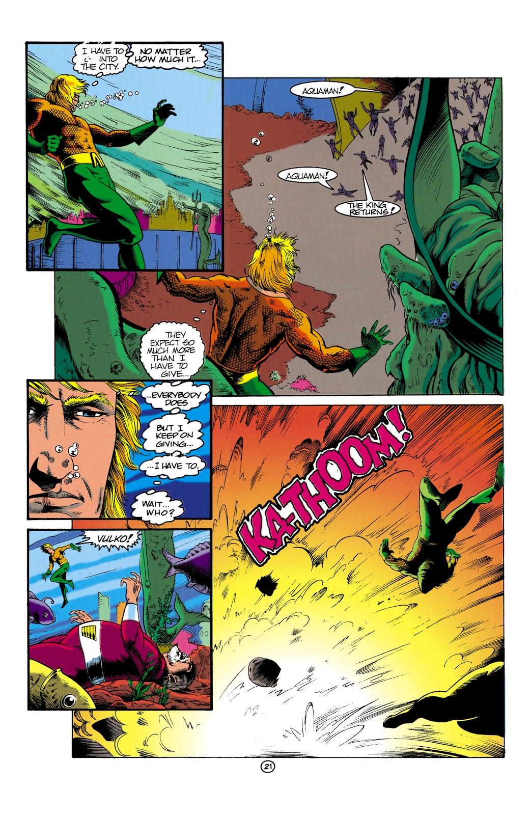 Aquaman (1991) Issue #1 #1 - English 21