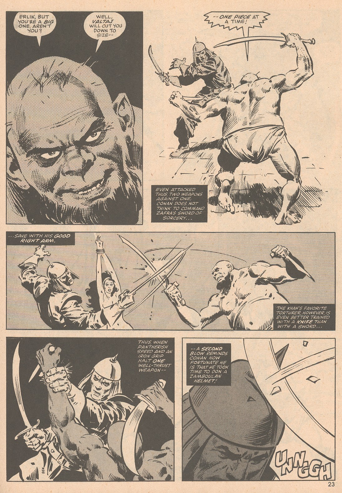 The Savage Sword Of Conan Issue #58 #59 - English 24