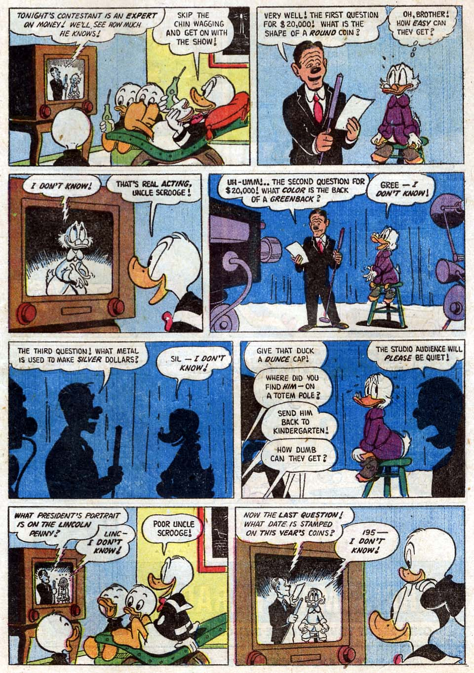 Uncle Scrooge (1953) Issue #16 #16 - English 33