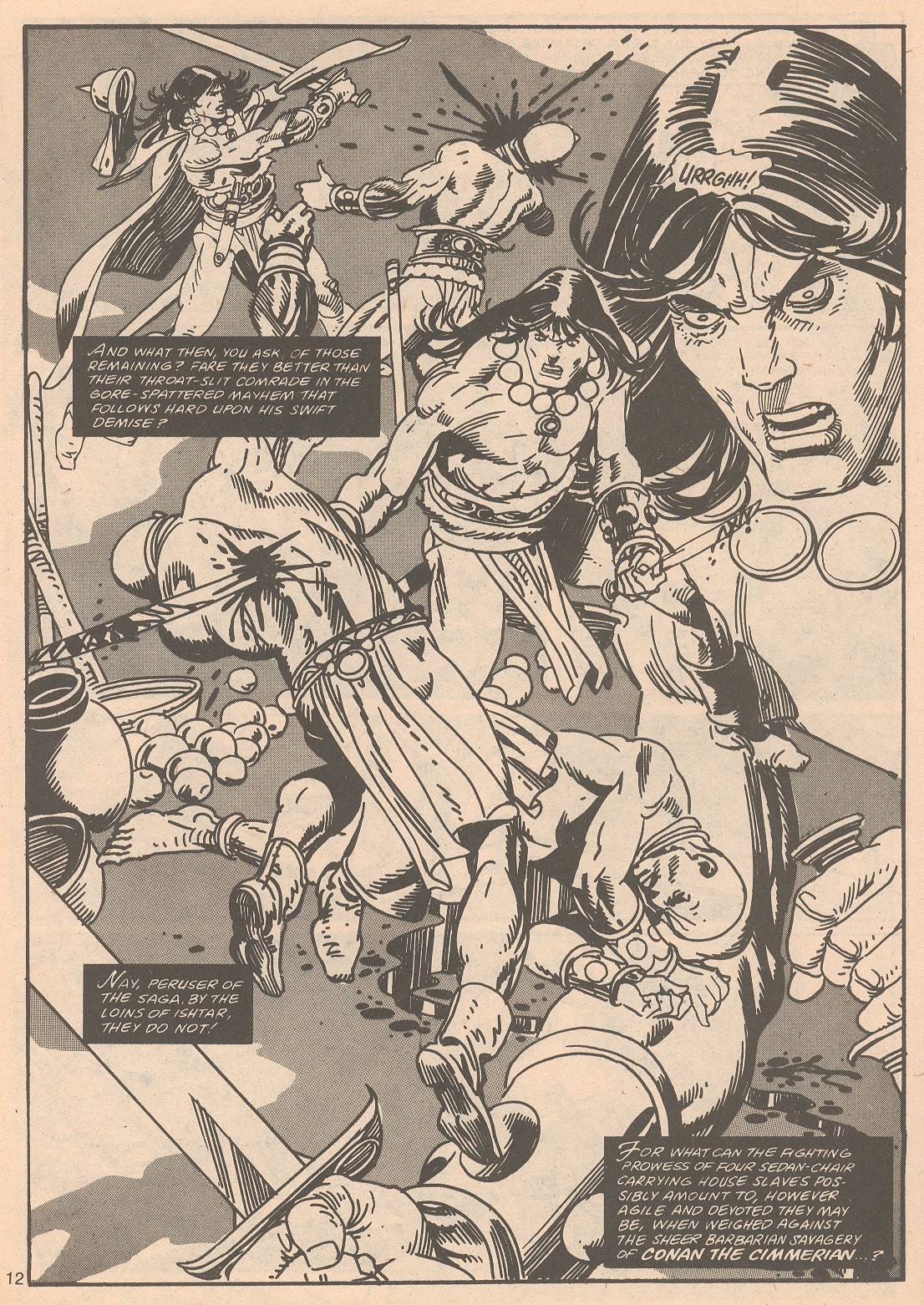 The Savage Sword Of Conan Issue #65 #66 - English 12