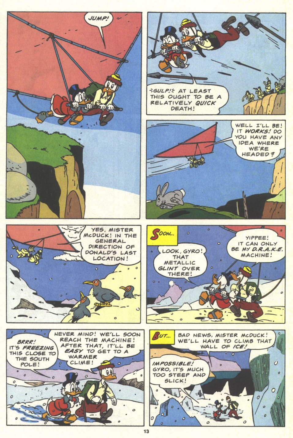 Uncle Scrooge (1953) Issue #259 #259 - English 14