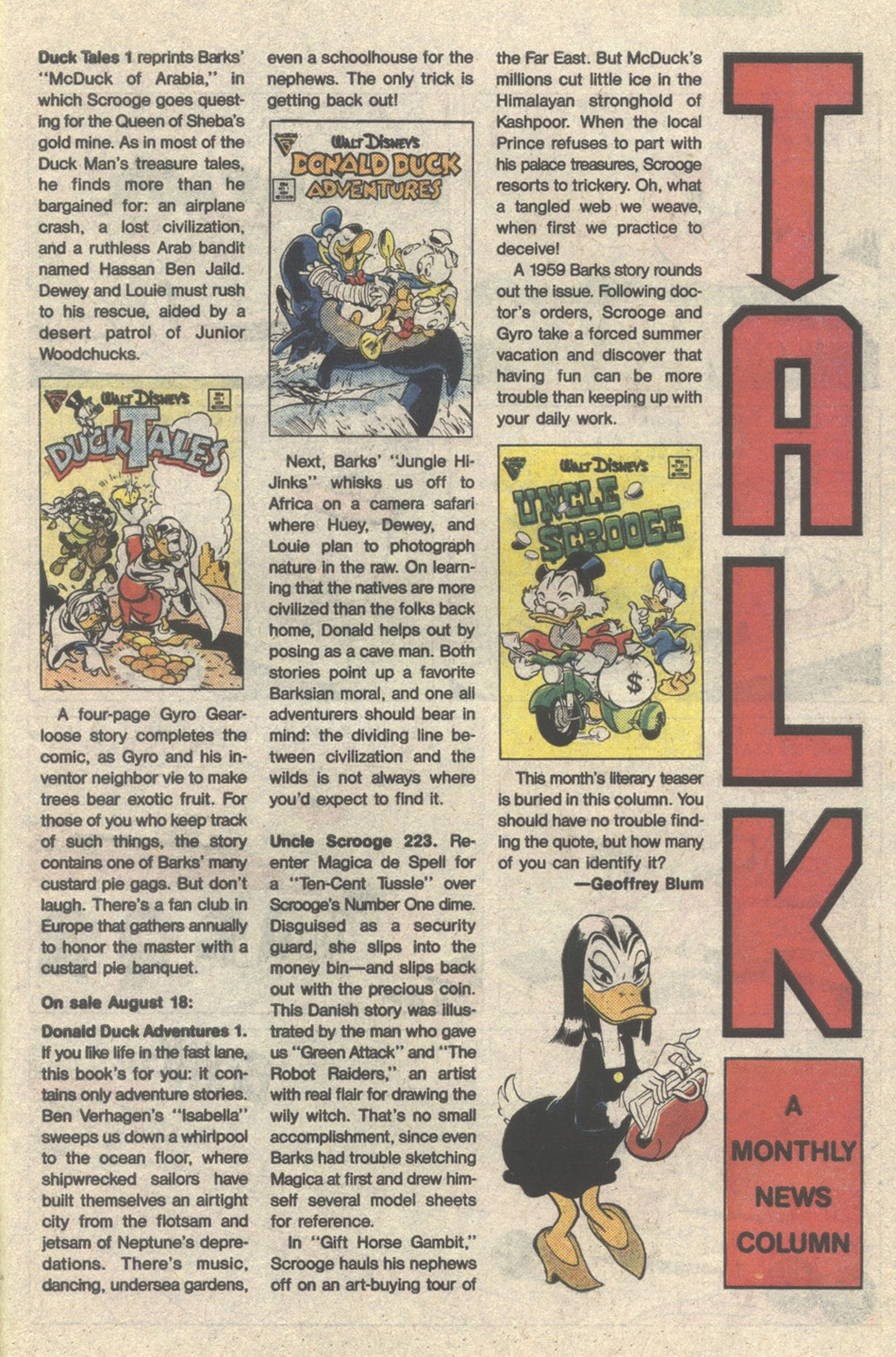 Uncle Scrooge (1953) Issue #223 #223 - English 27