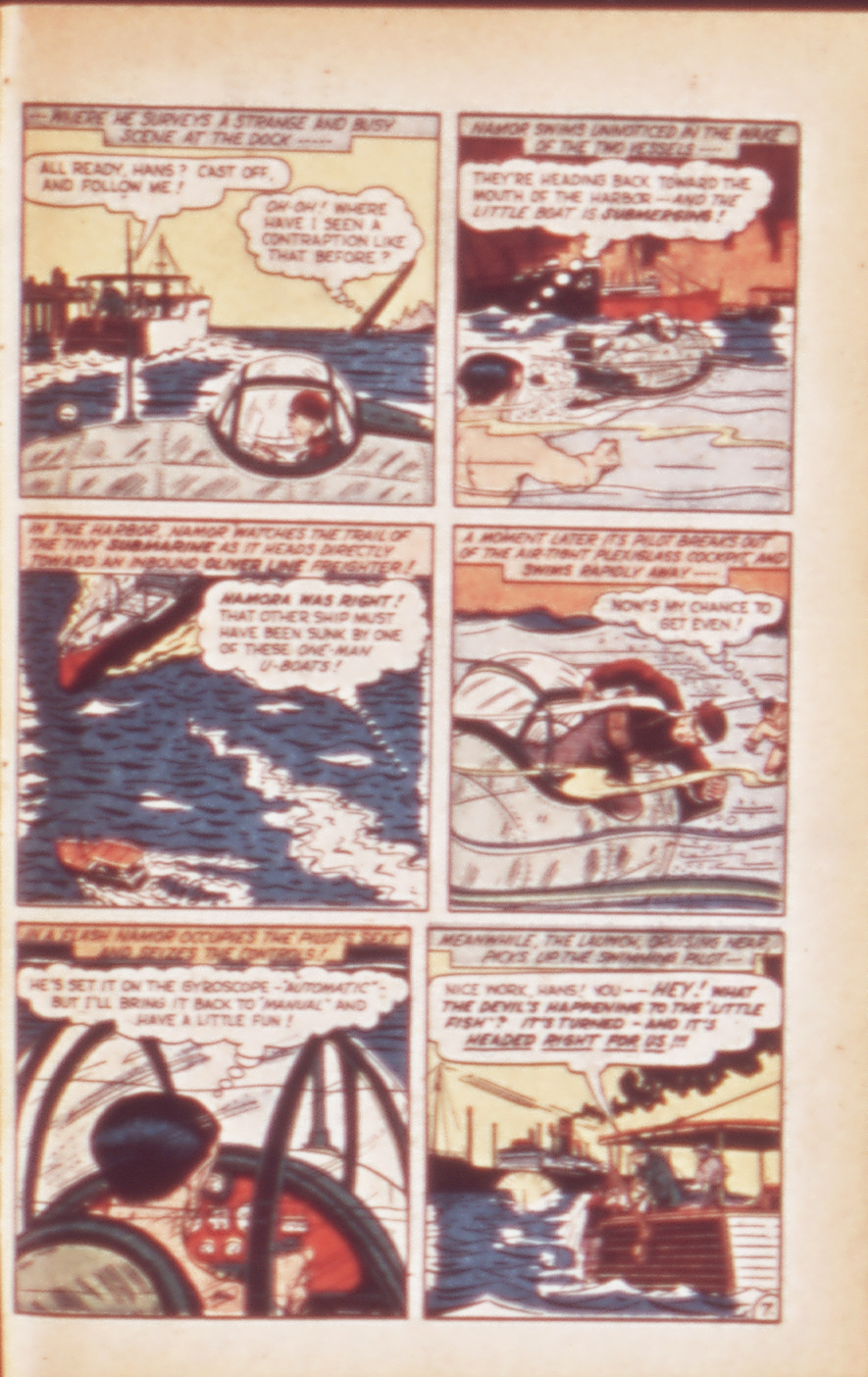 Sub-Mariner Comics #24 #24 - English 23