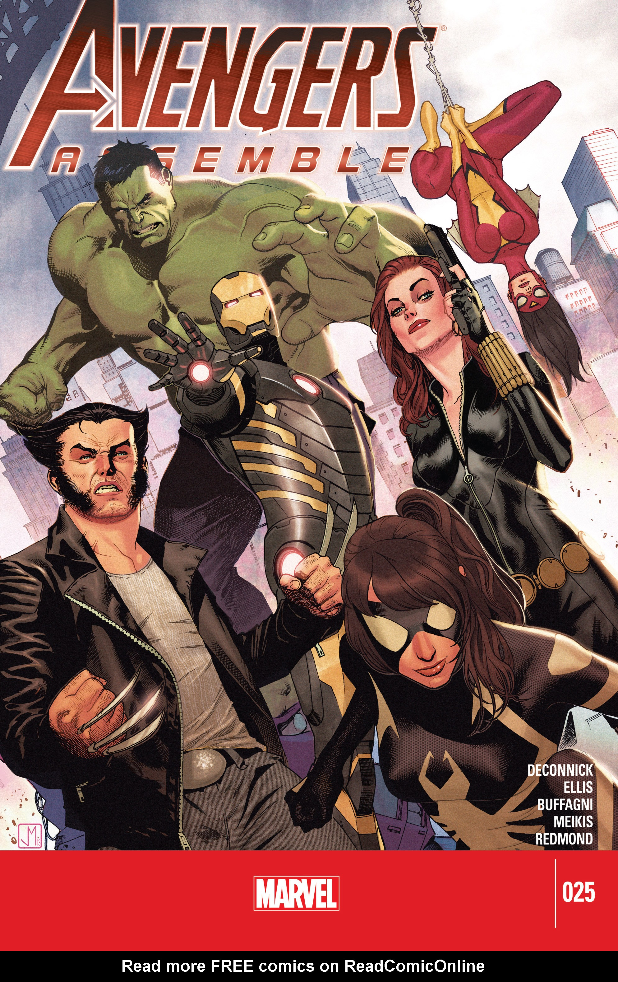 Read online Avengers Assemble (2012) comic -  Issue #25 - 1