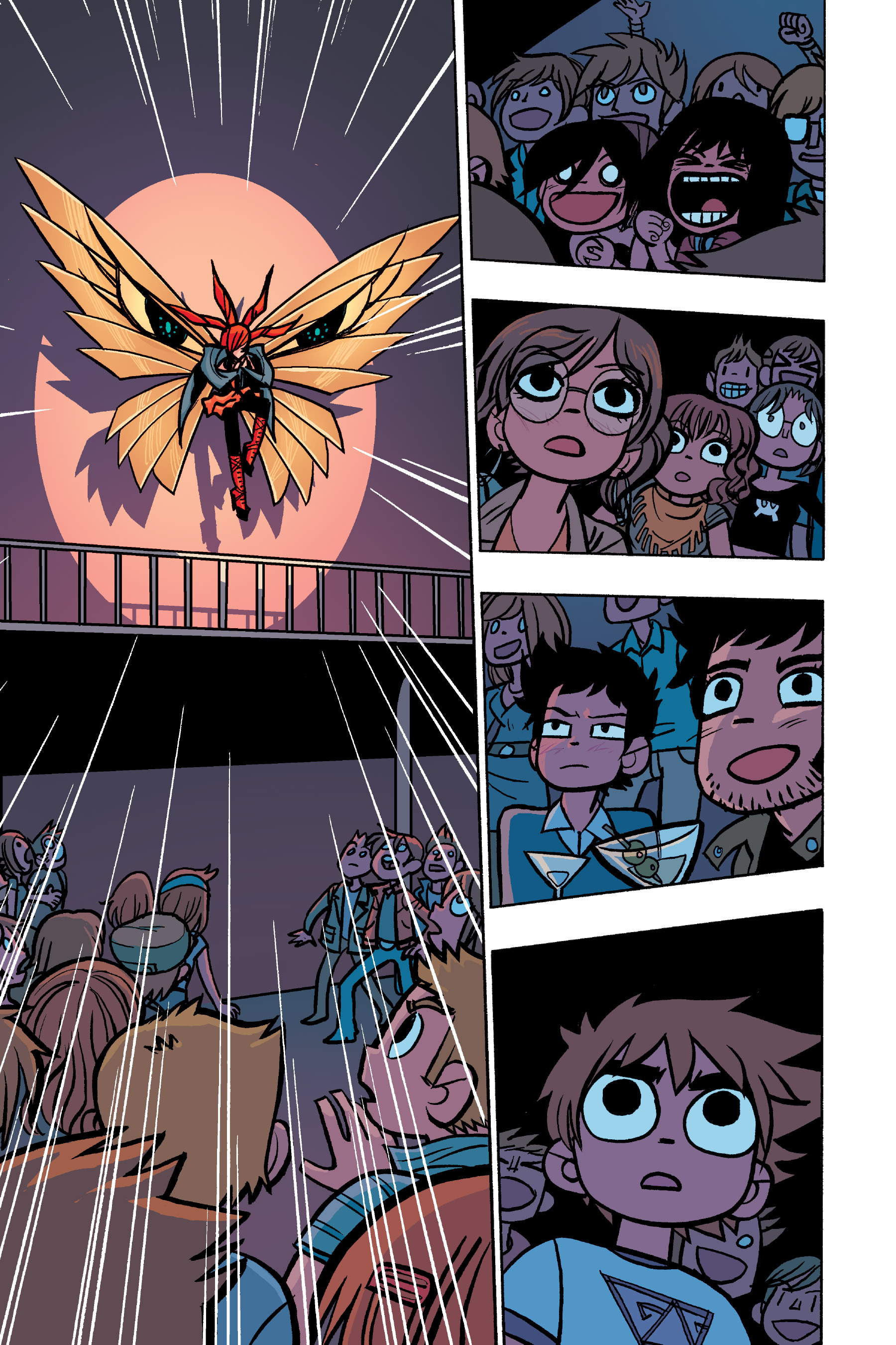 Read online Scott Pilgrim comic -  Issue #6 - 110