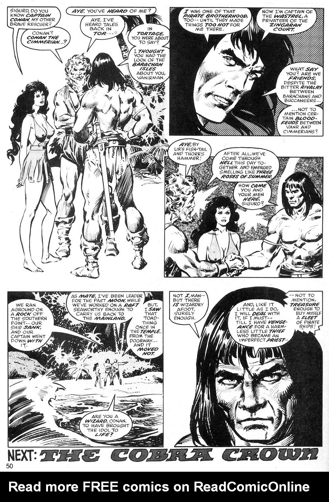 The Savage Sword Of Conan Issue #40 #41 - English 50