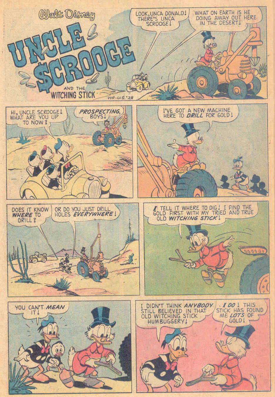 Uncle Scrooge (1953) Issue #138 #138 - English 28