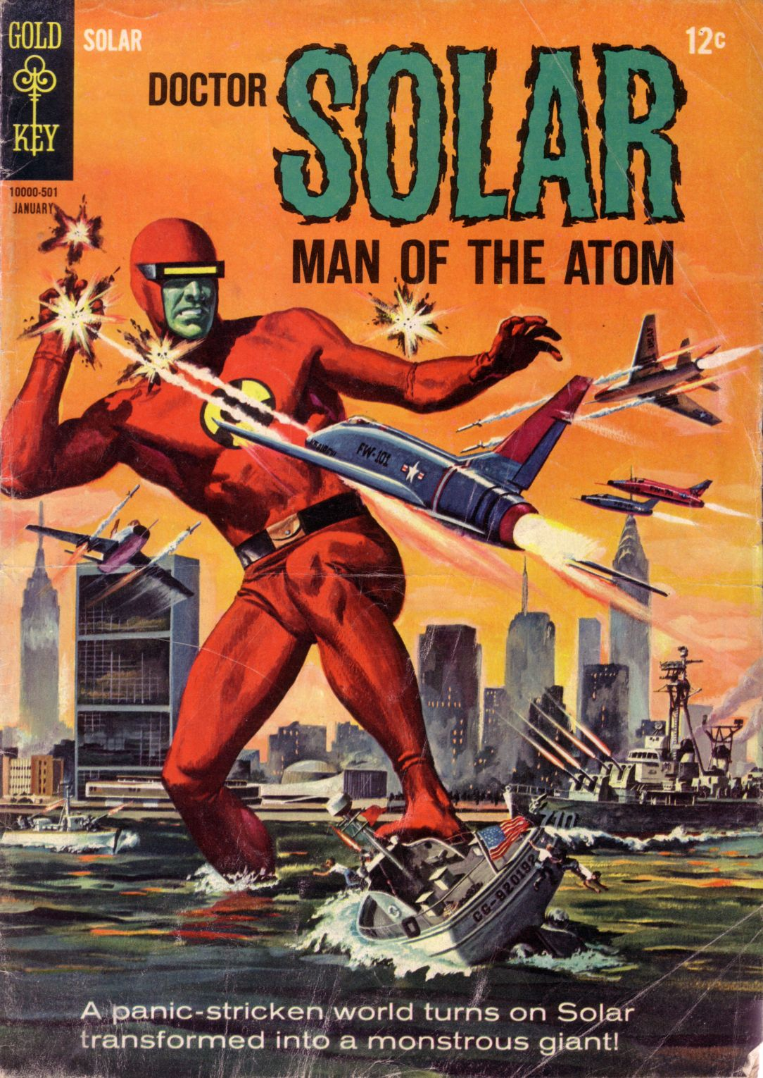 Doctor Solar, Man of the Atom (1962) 10 Page 1