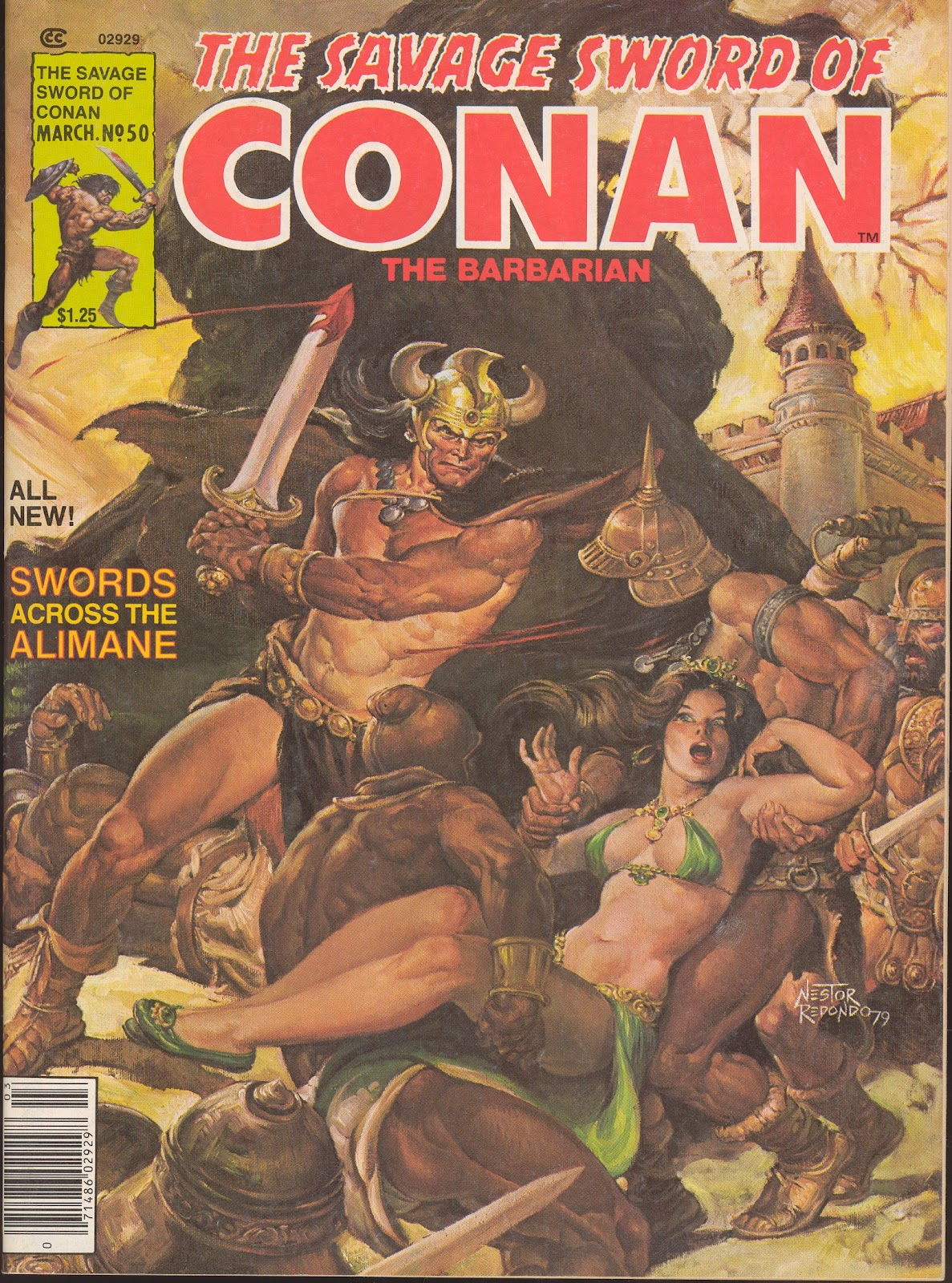 The Savage Sword Of Conan Issue #50 #51 - English 1