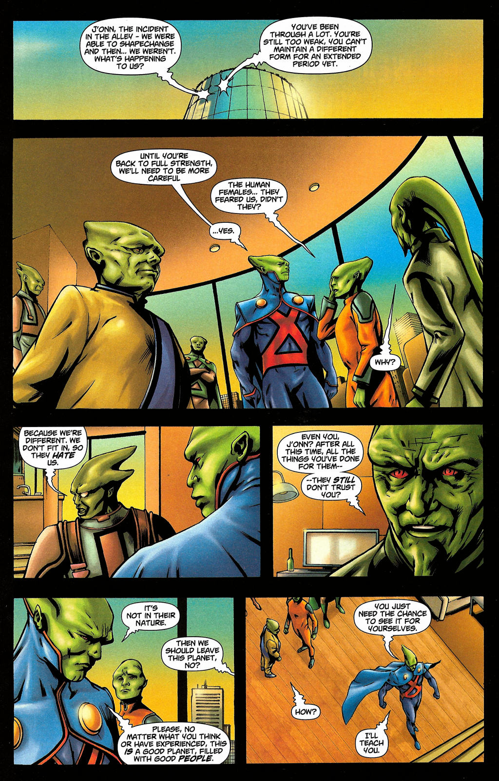 Read online Martian Manhunter (2006) comic -  Issue #4 - 14