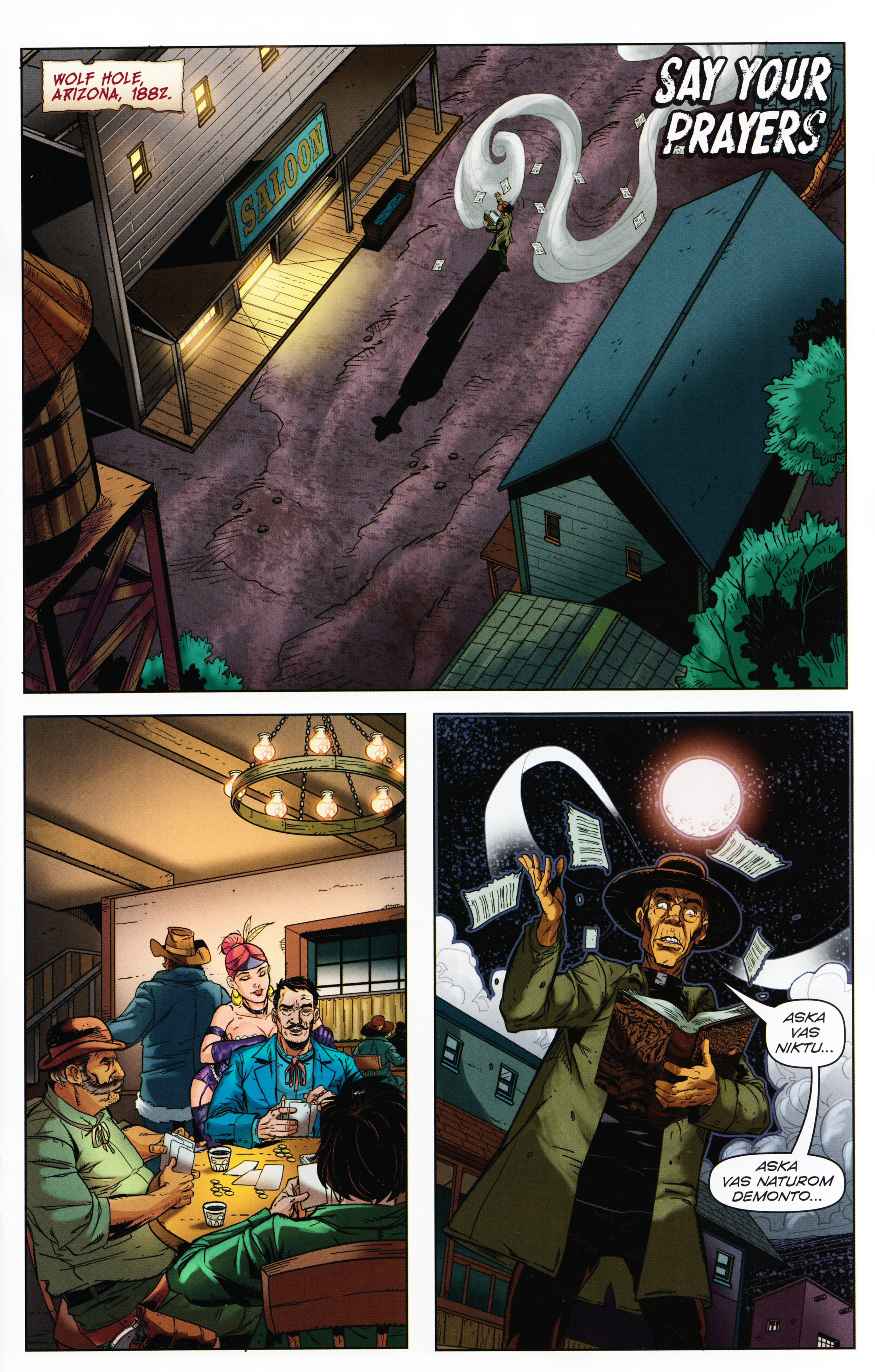 Read online Evil Dead 2: Tales of the Ex-Mortis comic -  Issue #3 - 17