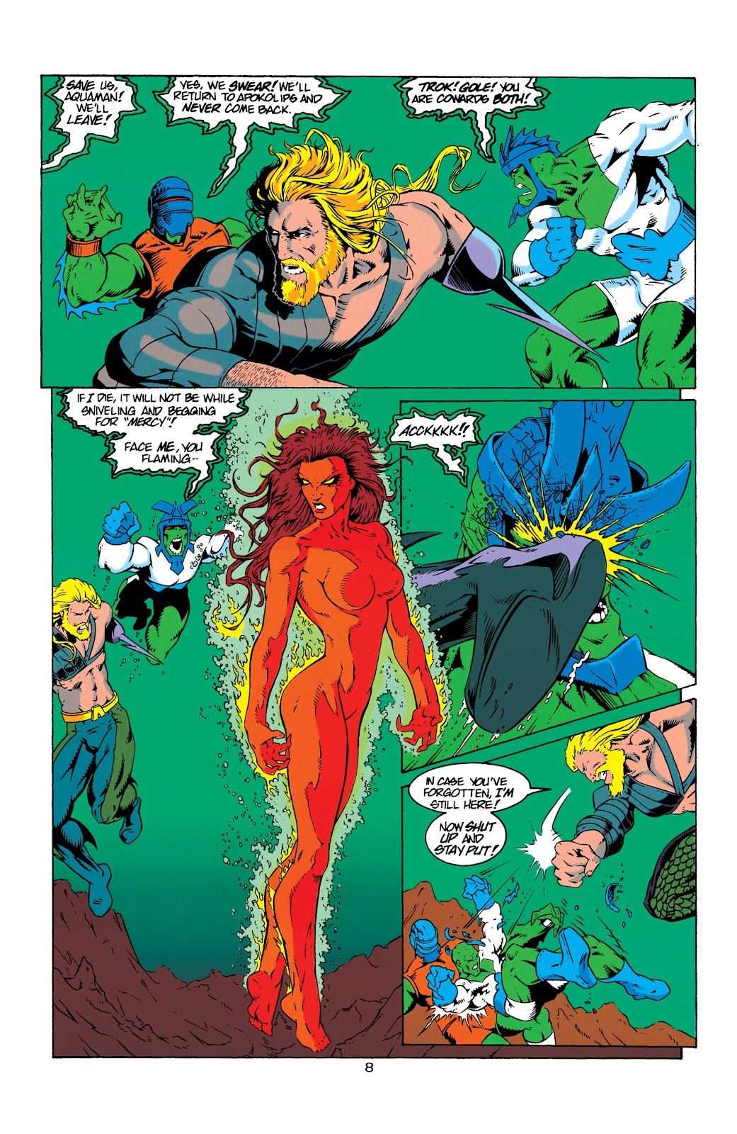Aquaman (1994) Issue #8 #14 - English 9