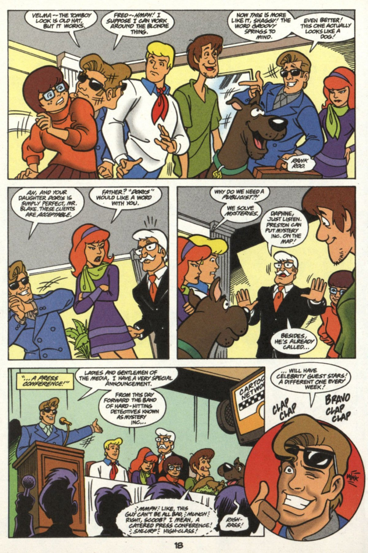 Read online Scooby-Doo (1997) comic -  Issue #16 - 17