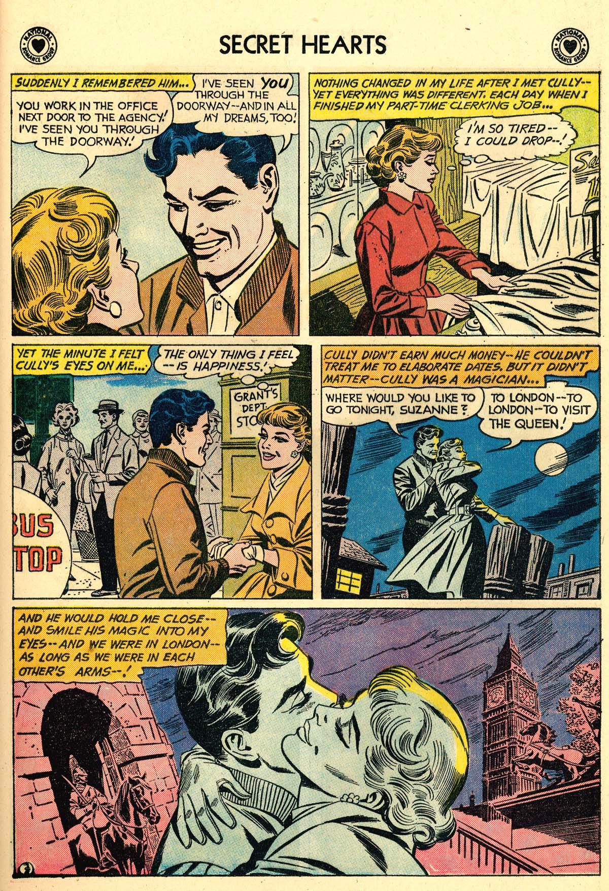 Read online Secret Hearts comic -  Issue #59 - 29