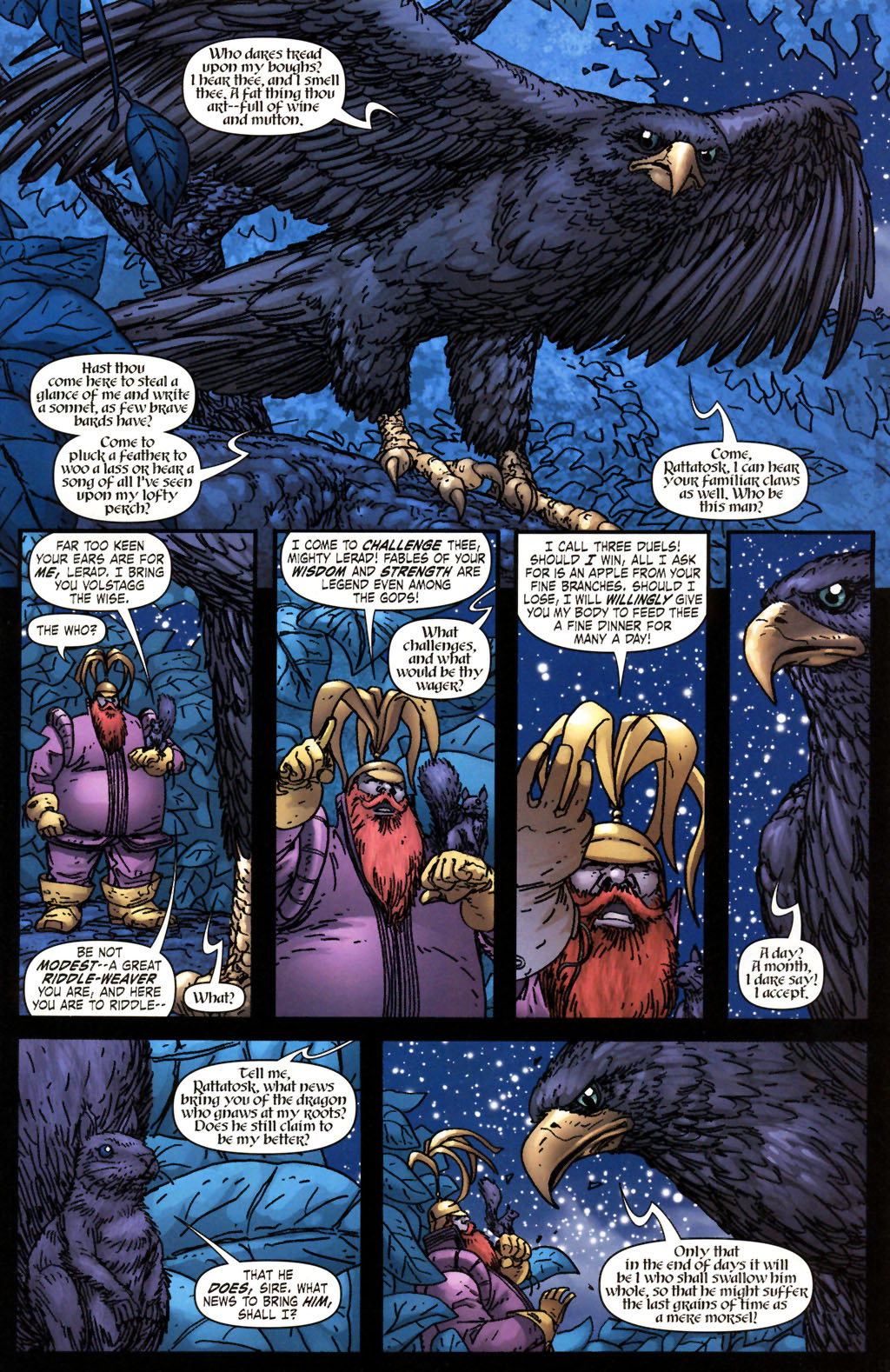 Read online Thor: Blood Oath comic -  Issue #2 - 8