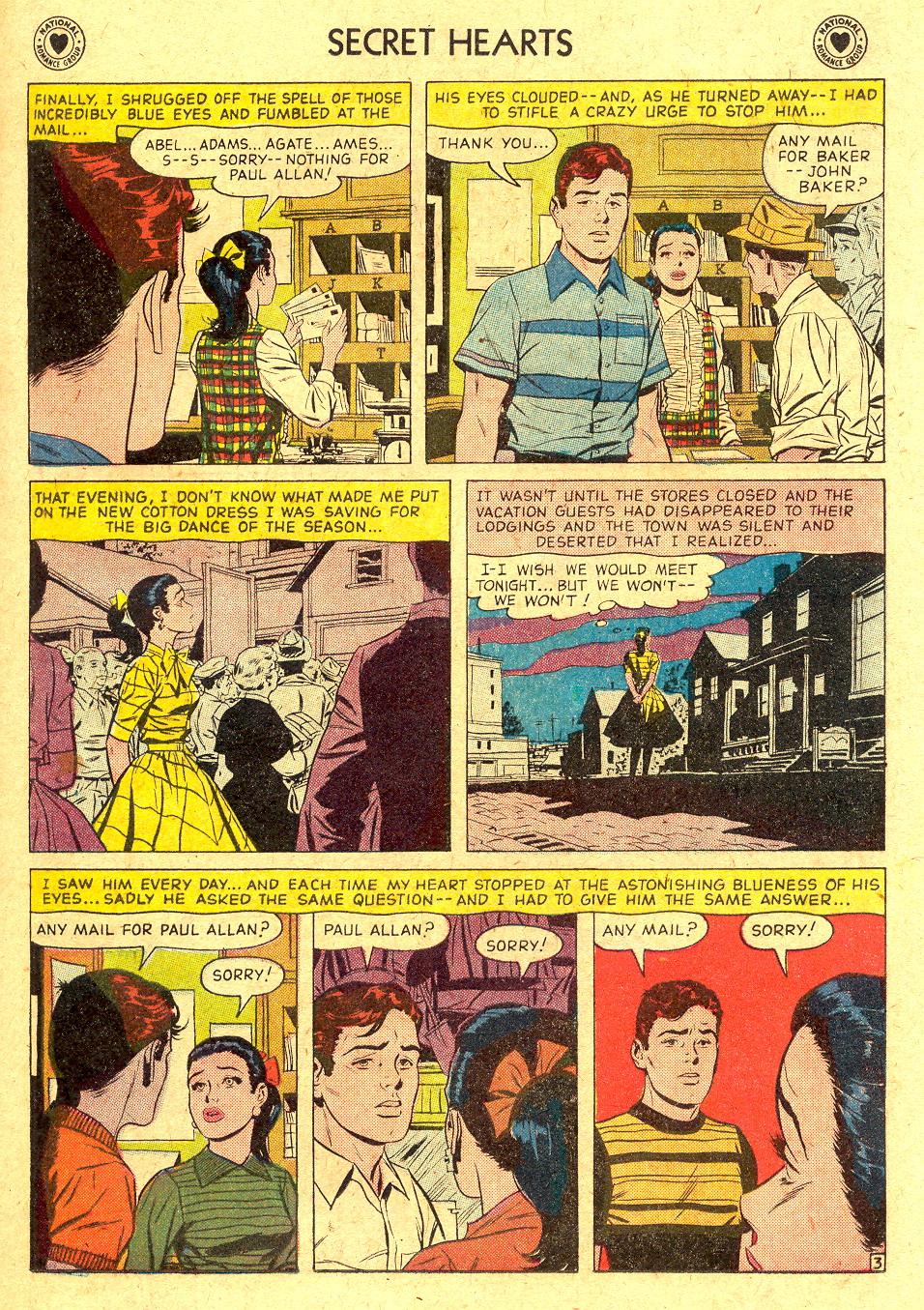 Read online Secret Hearts comic -  Issue #45 - 19