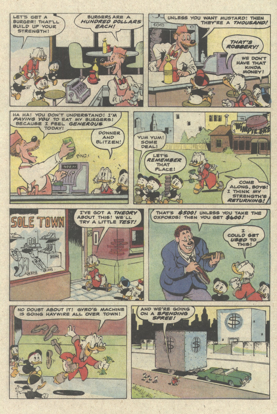 Uncle Scrooge (1953) Issue #228 #228 - English 33