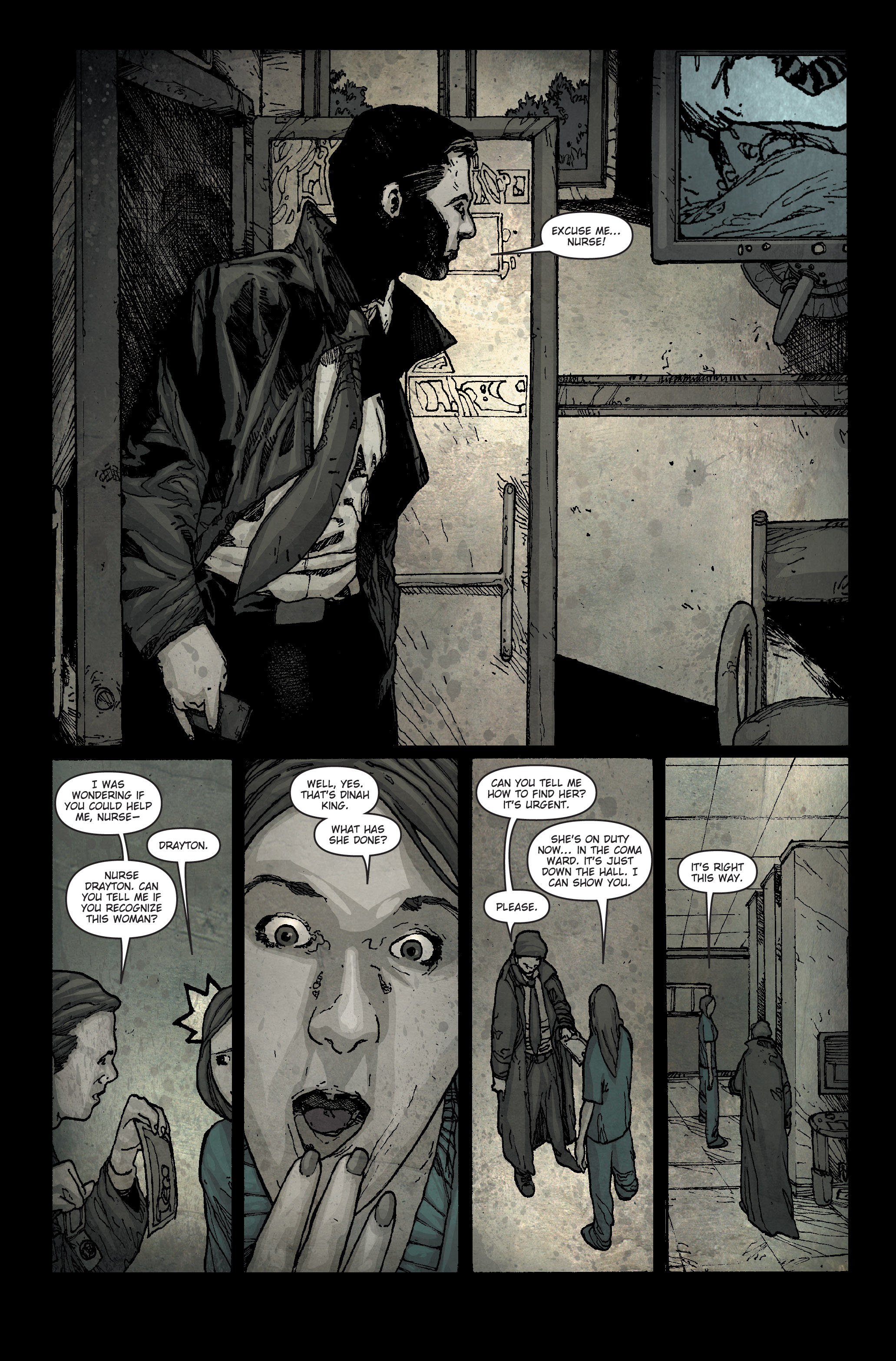 30 Days of Night: Spreading the Disease 1 Page 21