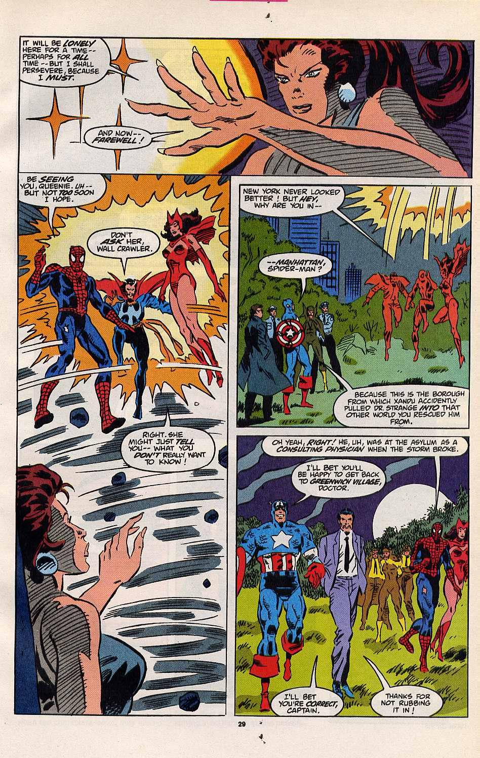 Read online Secret Defenders comic -  Issue #8 - 22