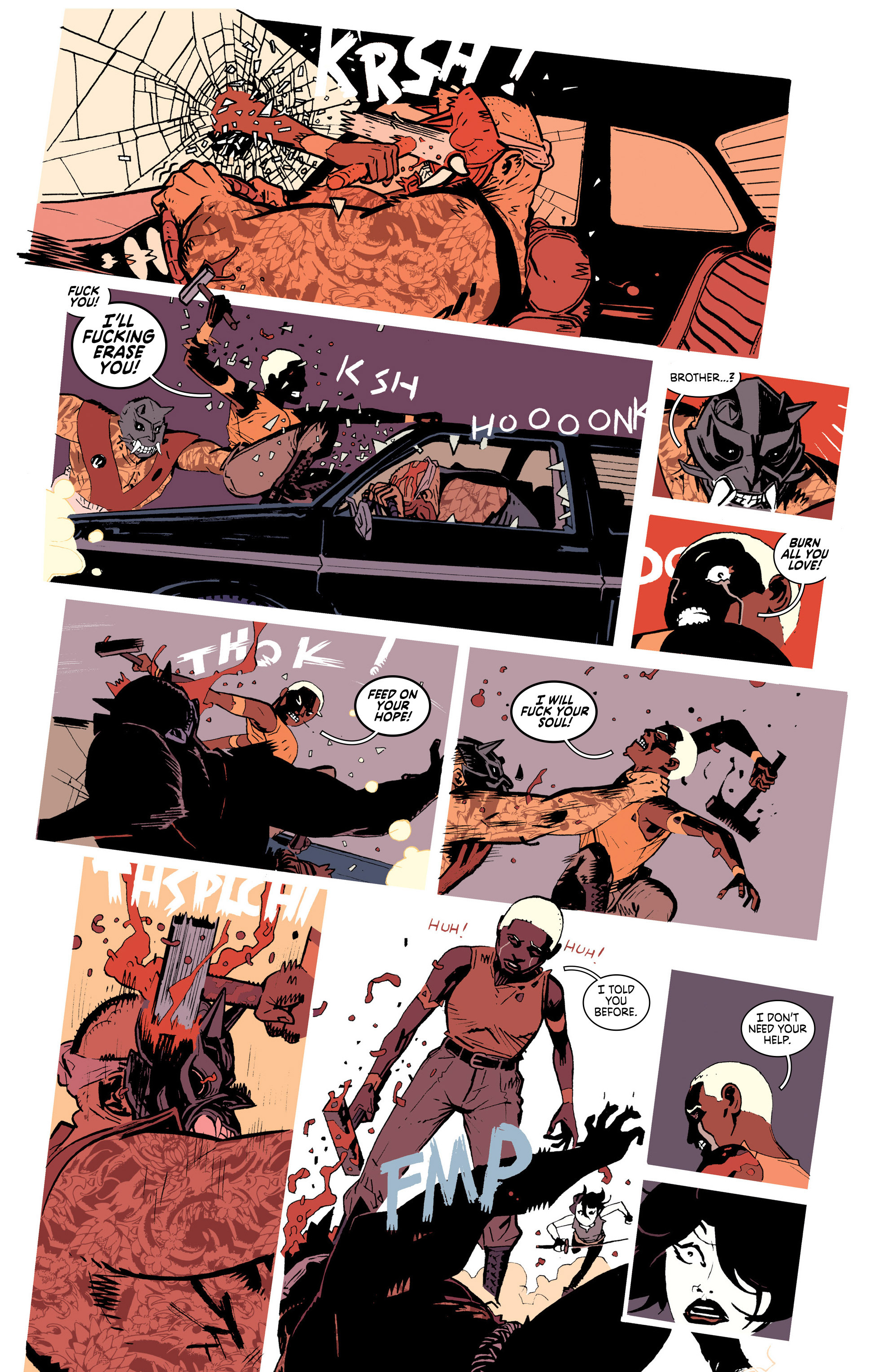 Read online Deadly Class comic -  Issue #25 - 16