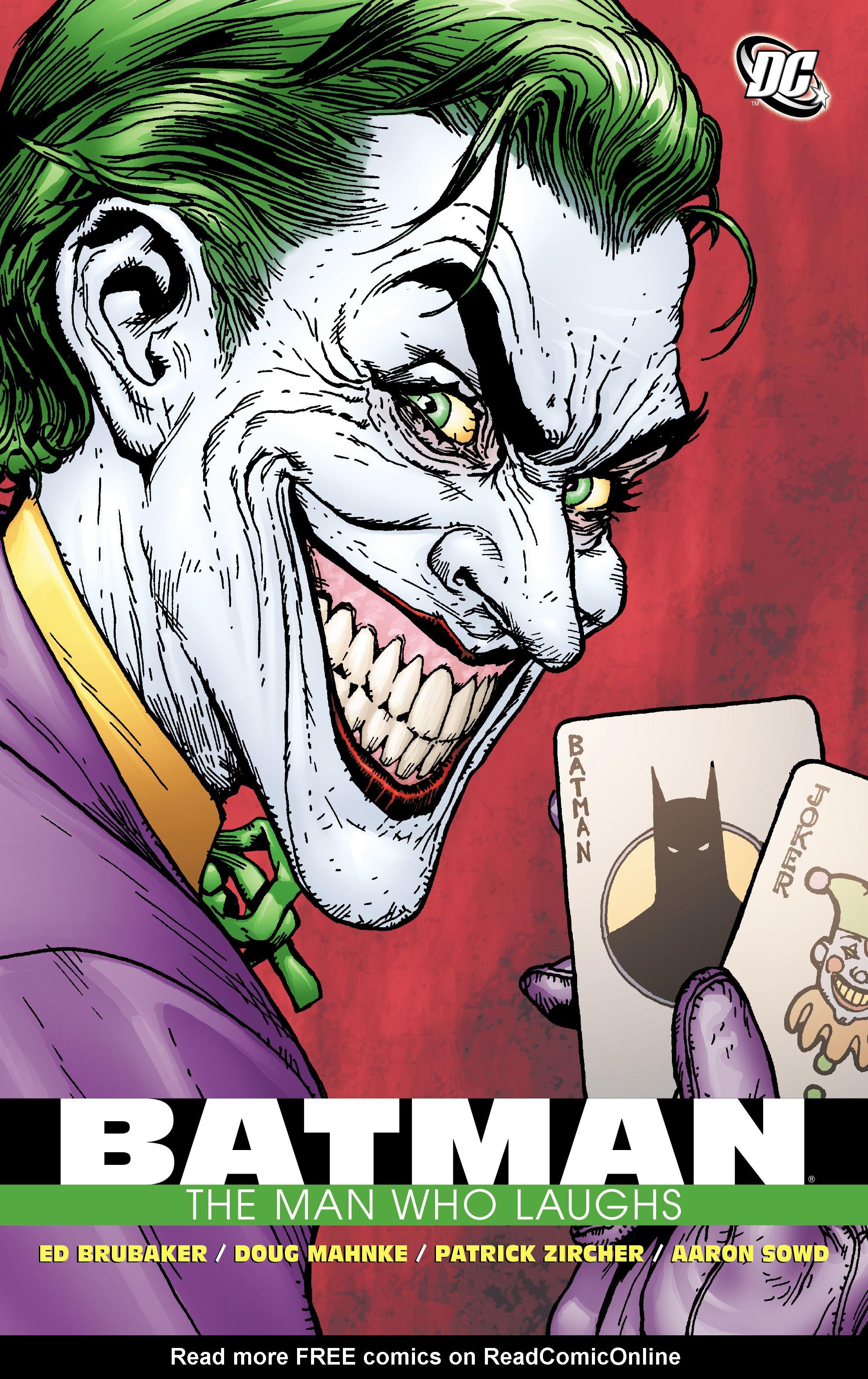 Batman: The Man Who Laughs chap 1 pic 1
