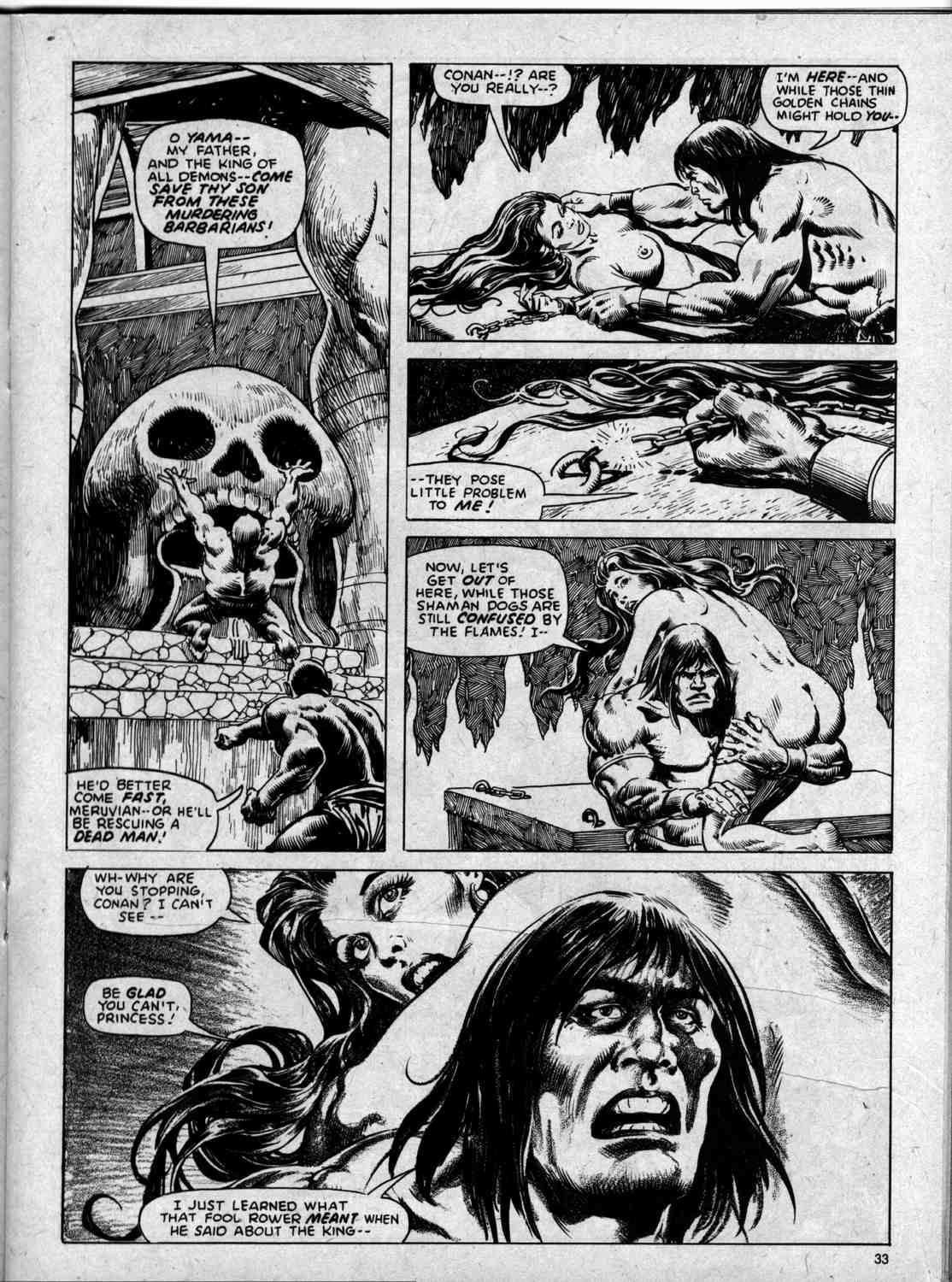 The Savage Sword Of Conan Issue #59 #60 - English 33