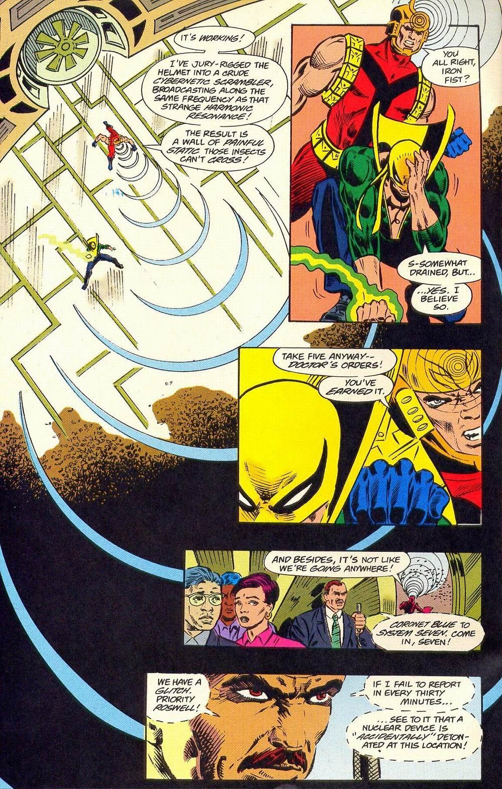 Read online Secret Defenders comic -  Issue #18 - 20