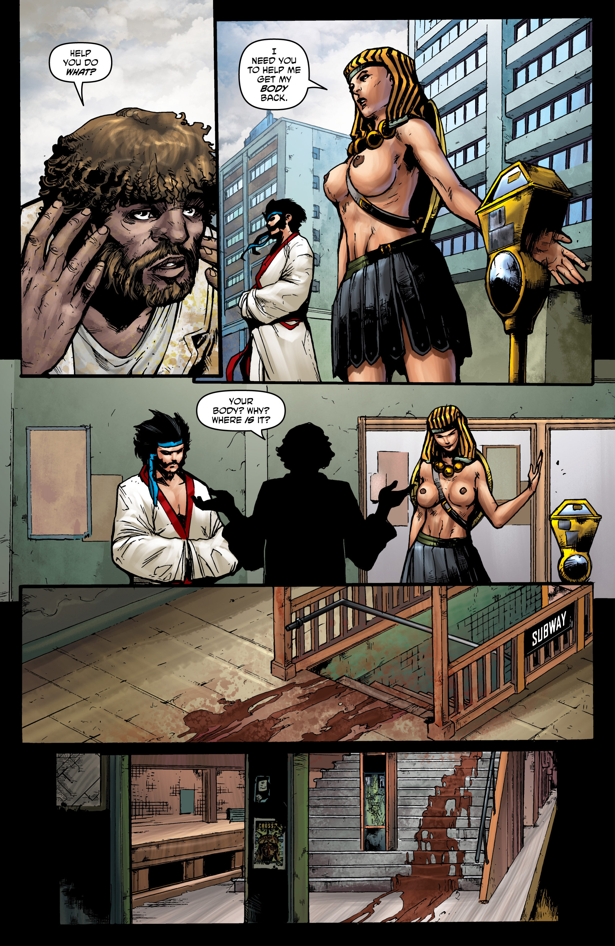 Read online God Is Dead comic -  Issue #44 - 7