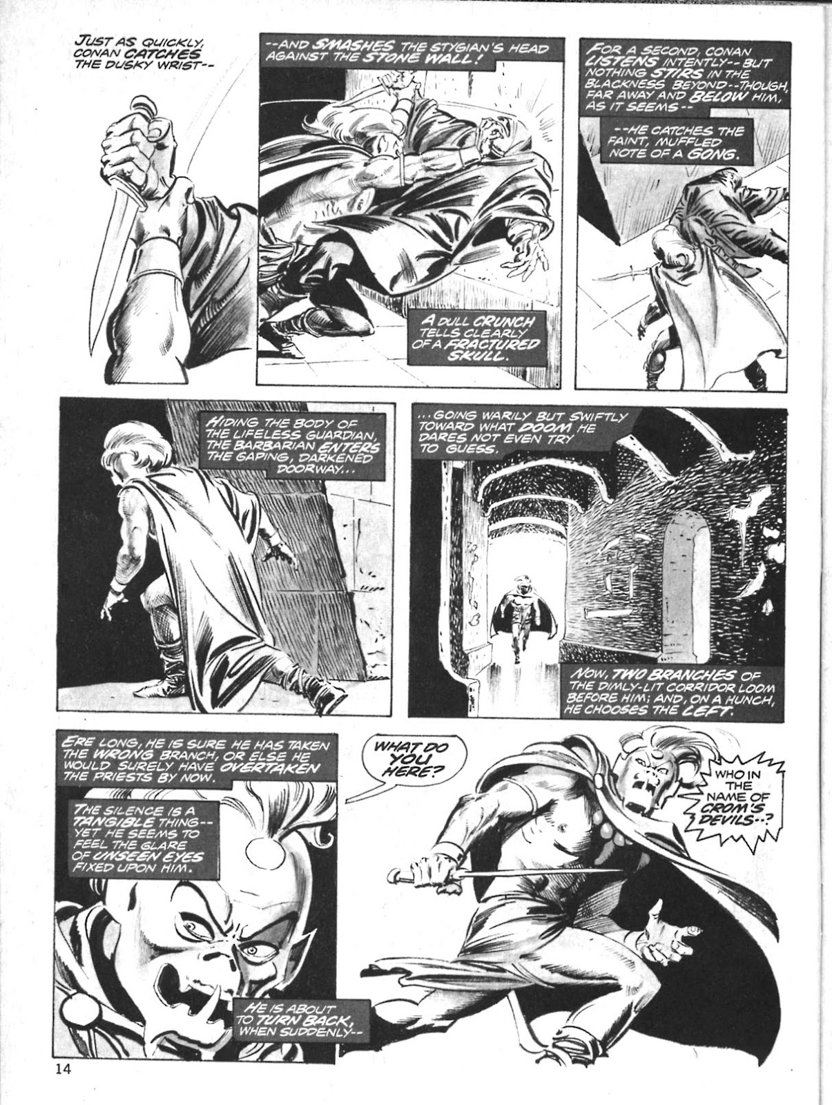The Savage Sword Of Conan Issue #10 #11 - English 14
