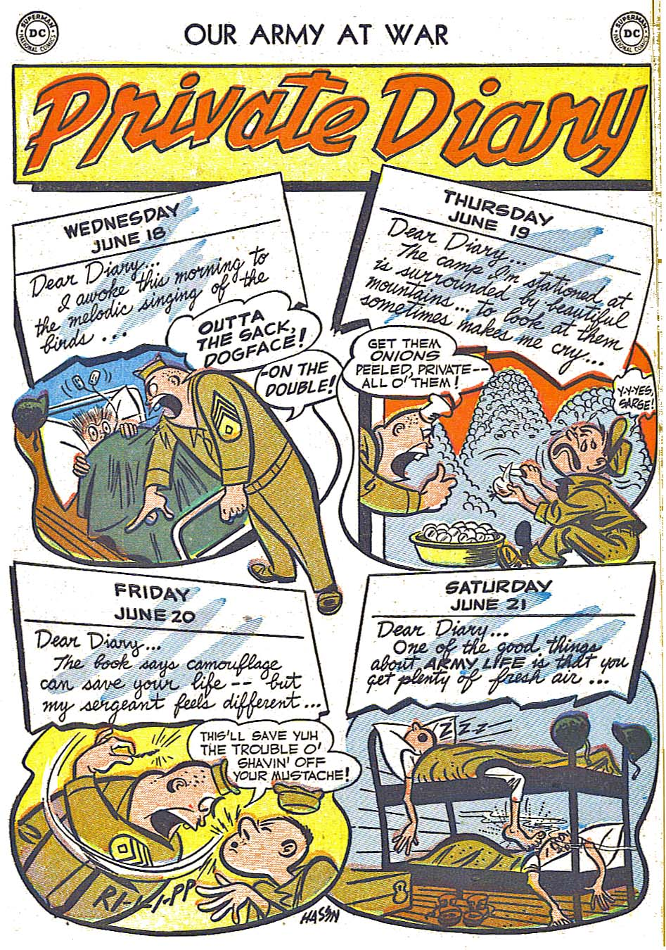 at War (1952) Issue #248 #301 - English 10