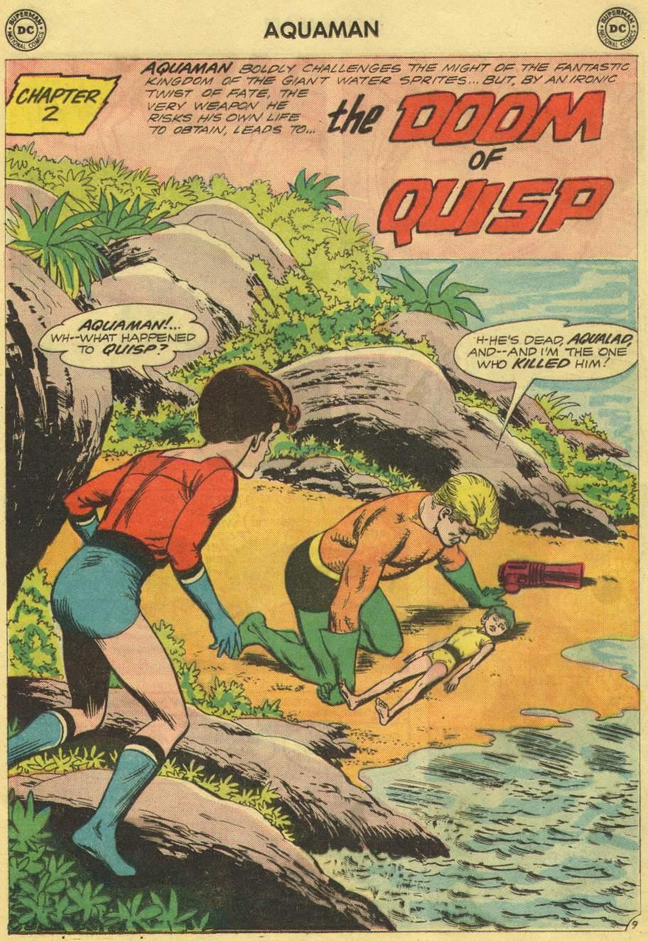 Aquaman (1962) Issue #10 #10 - English 13