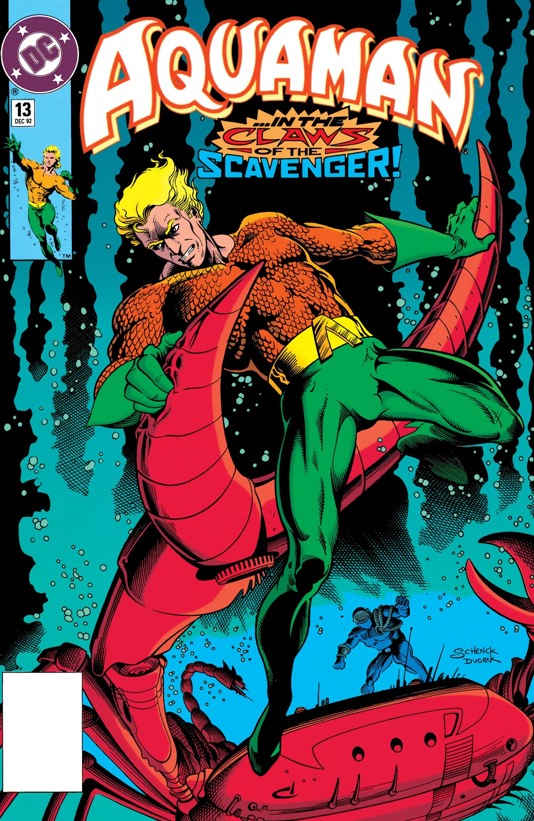 Aquaman (1991) Issue #13 #13 - English 1