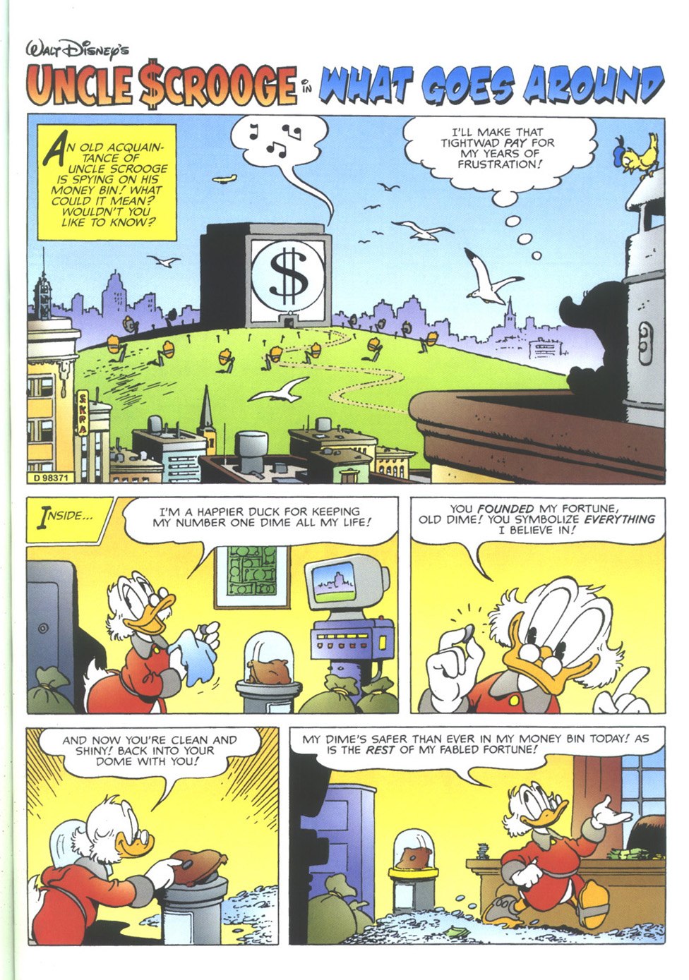 Uncle Scrooge (1953) Issue #350 #350 - English 53