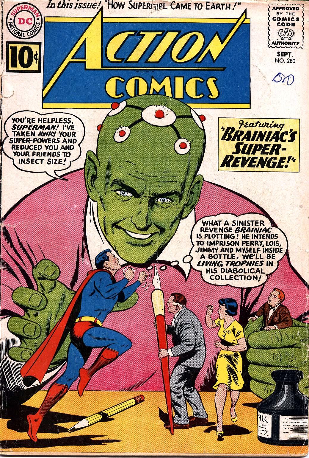 Action Comics (1938) 280 Page 1