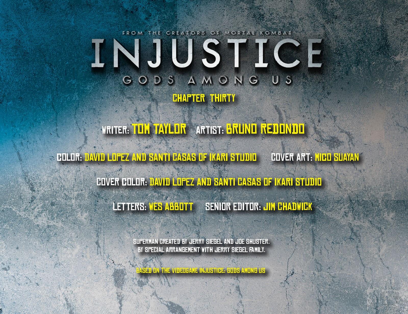 Injustice: Gods Among Us [I] Issue #30 #31 - English 2