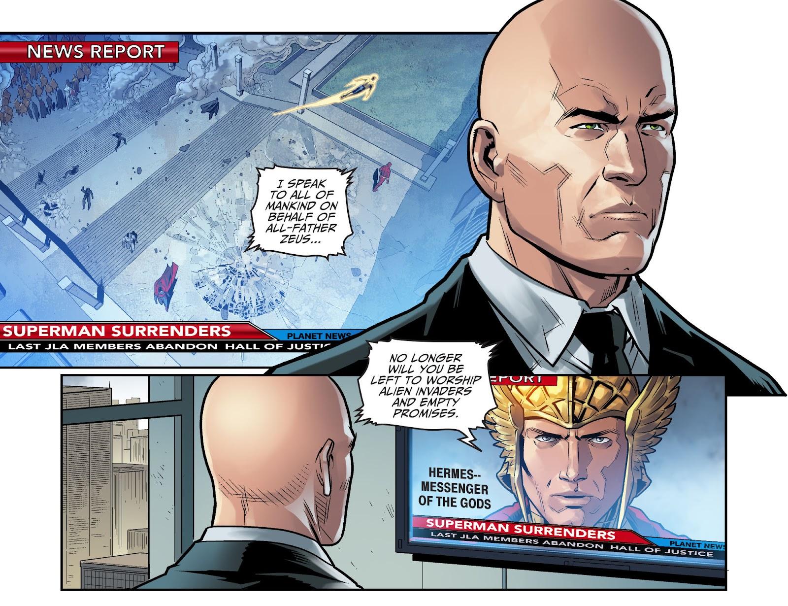 Injustice: Gods Among Us Year Four Issue #15 #16 - English 17