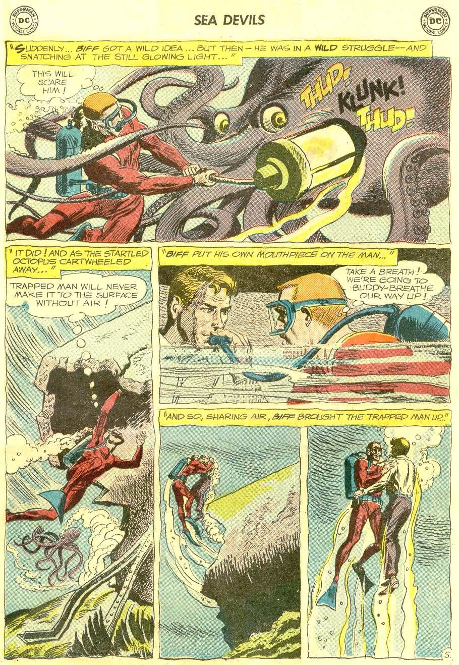 Read online Sea Devils comic -  Issue #12 - 7