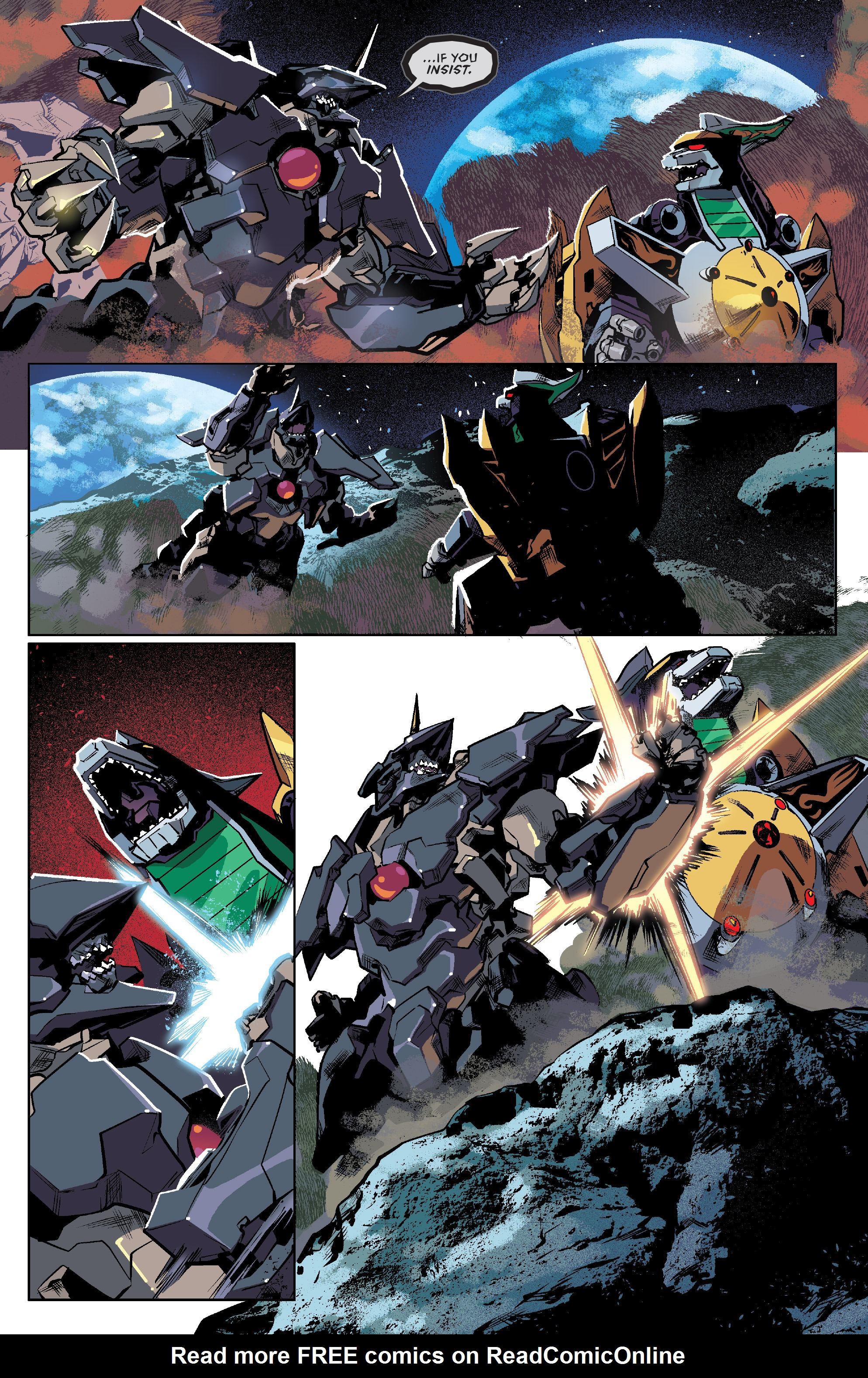 Read online Mighty Morphin Power Rangers comic -  Issue #7 - 20