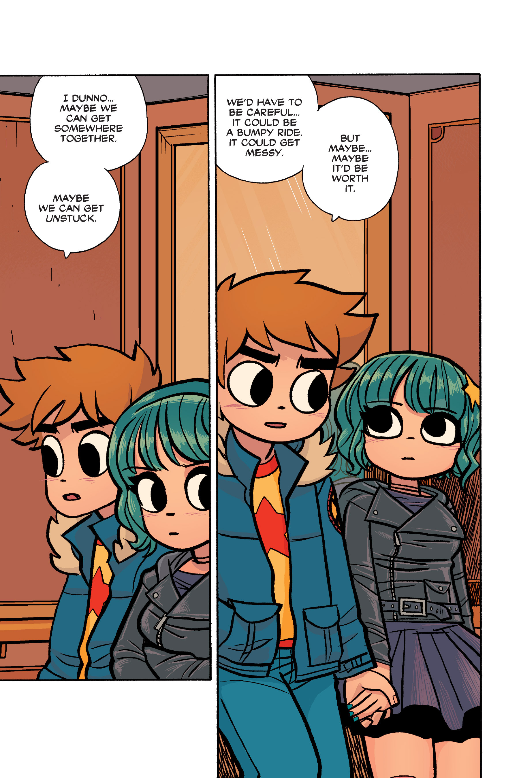 Read online Scott Pilgrim comic -  Issue #6 - 224