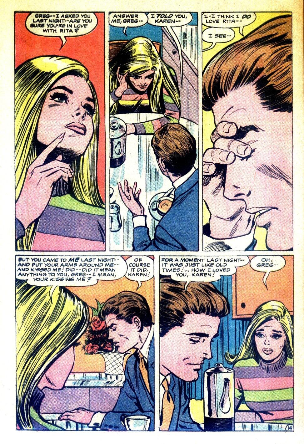 Read online Secret Hearts comic -  Issue #126 - 32