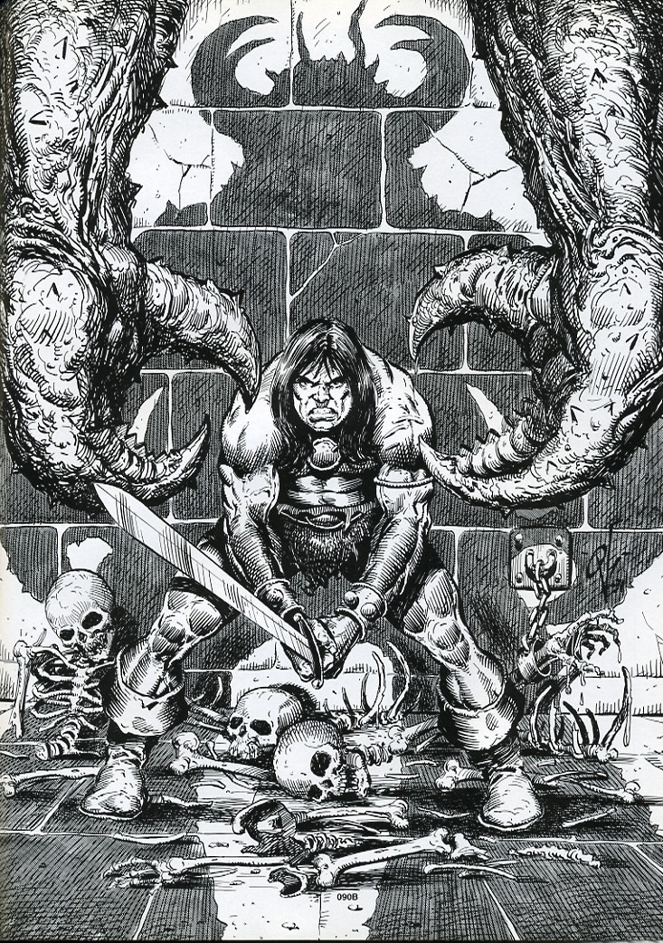 The Savage Sword Of Conan Issue #192 #193 - English 67