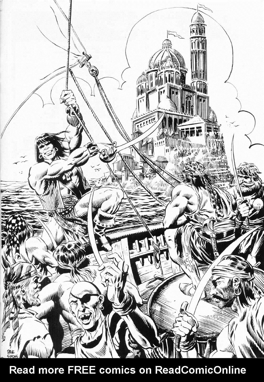 The Savage Sword Of Conan Issue #156 #157 - English 62